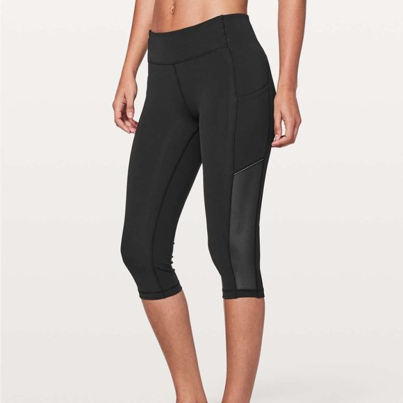 Size 2 - Lululemon Speed Up Crop *Mesh 21""